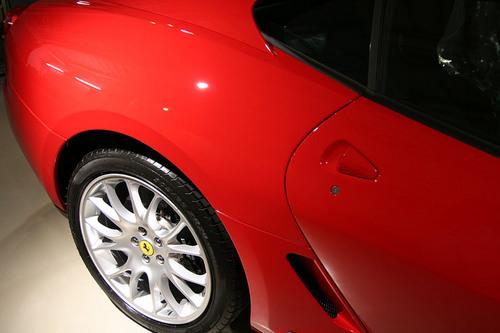 フェラーリ 599 ガラスコーティング施工