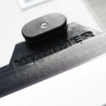 ハマーH2 樹脂パーツのクリーニング・コーティング。