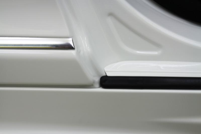 メルセデスベンツ CL63 AMG 細部分のクリーニング・コーティング施工後。