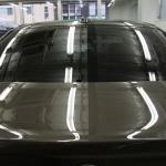BMW 320i ガラス全面へシルフィード断熱フィルム施行。