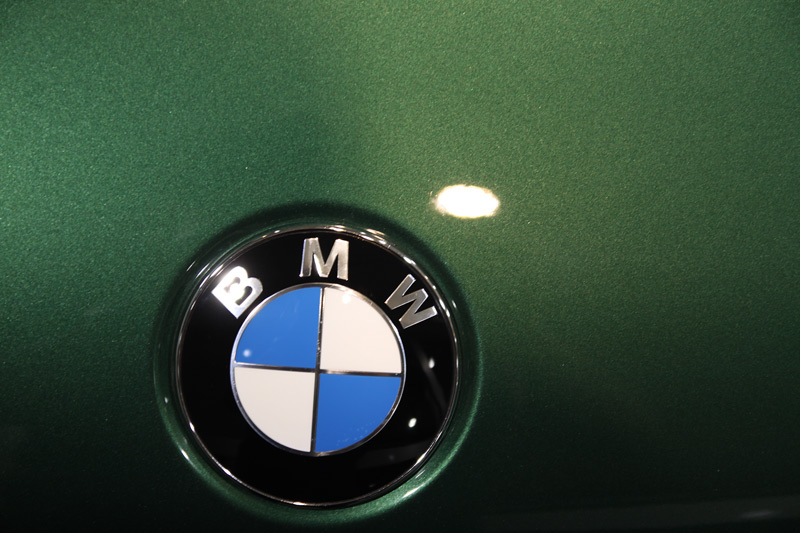 BMW アルピナ B-3 (9) 磨き、TTクリアーコート後のボディ。