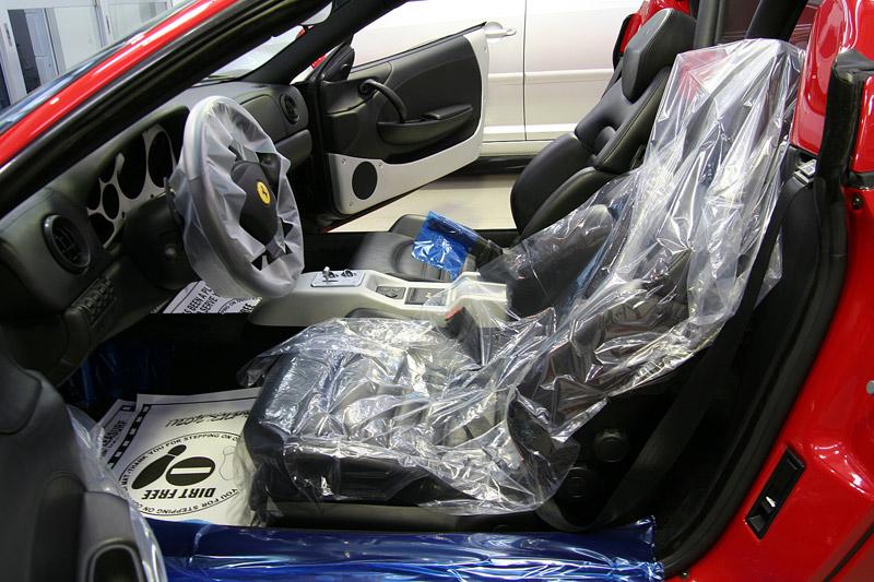 ルームクリーニング フェラーリ360スパイダー。