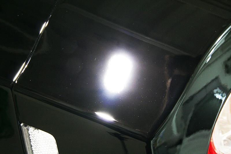 GTR R-1ボディガラスコーティング施工後のボディ。
