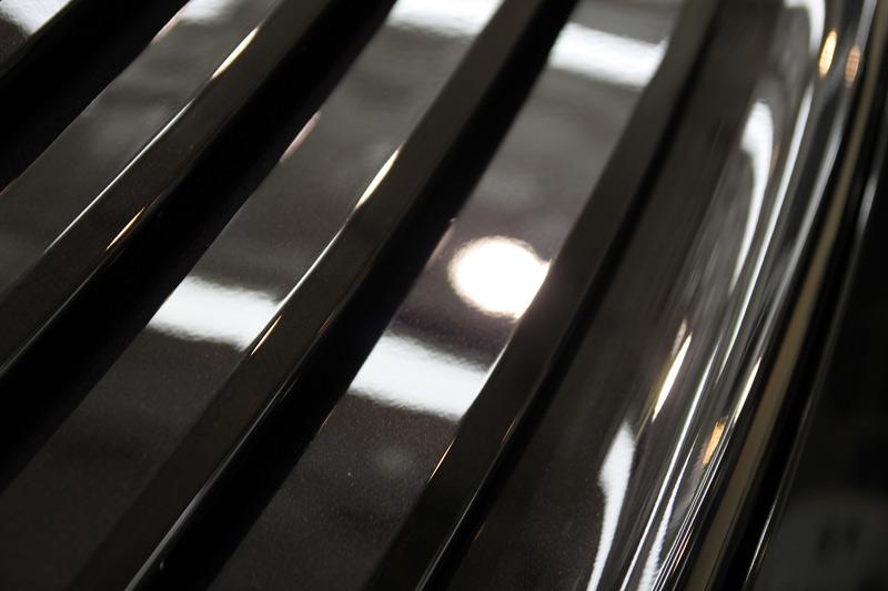 ポルシェ 997 カレラS 磨き、プレミアムガラスコーティング後のボディ。