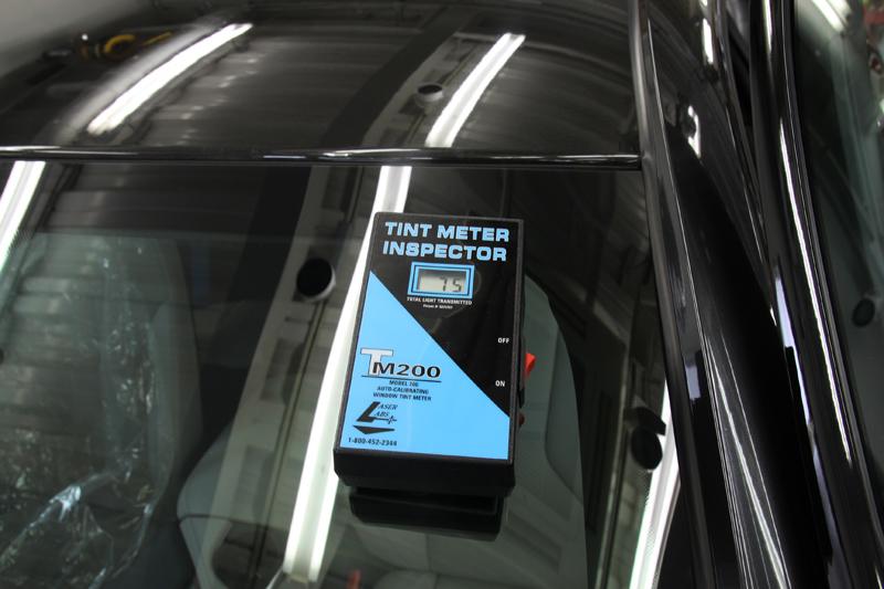 断熱カーフィルム 施工後のフロントガラス透過率 BMW i8